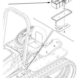 Cassetta attrezzi New Holland cod 87386543