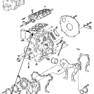 Guarnizione motore New Holland cod 87800106