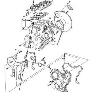 Guarnizione testata motore New Holland cod 83977022