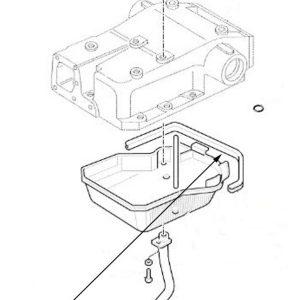 Paraolio coperchio sollevatore New Holland cod 5122962