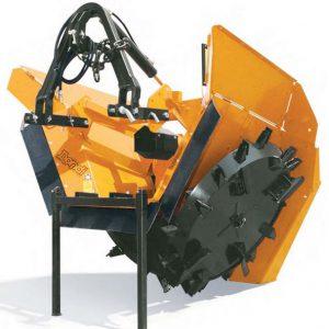 Scavafossi rotativa biruota dondi modello DBR 7532° - 1000